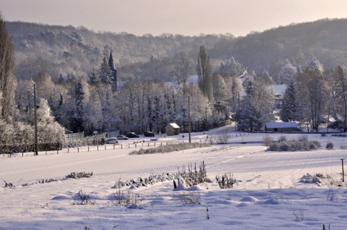 neige,village,senlisse,photos