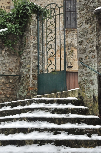 eglise,neige,senlisse,photos